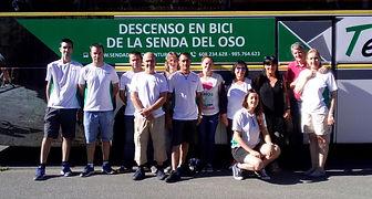 Asistencia técnica en ruta Senda del Oso en bici