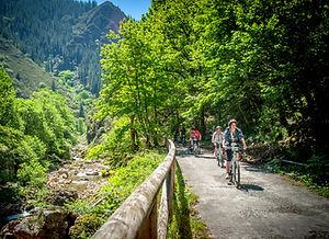 Senda de Oso en bici