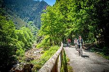 Descenso en Bici de la Senda del Oso TeverAstur Asturias