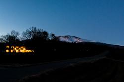 浅間山とVILLA