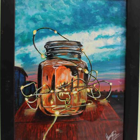 Ferry Light Painting