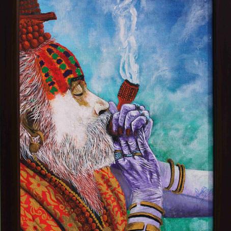 Aghori Baba (Lord Shiva Devotee)