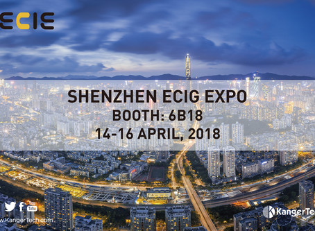 KangerTech will attend the IECIE 2018