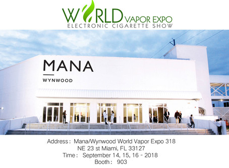 KangerTech will be seeing you soon at World Vapor Expo 2018 in Miami