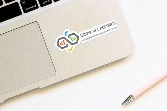 GoL laptop sticker