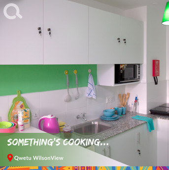 Wilsonview Cluster Room kitchen