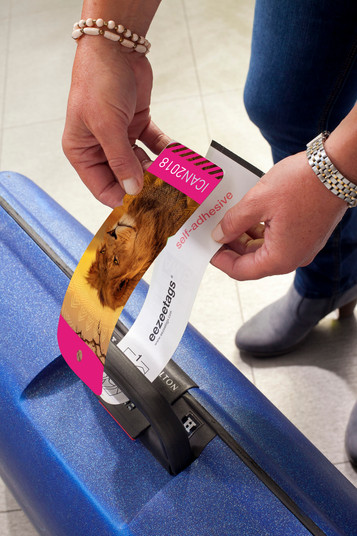 ICAN luggage tag