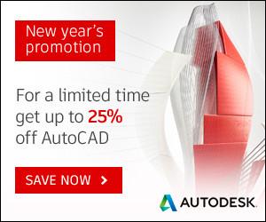 Flash sale banner AutoCAD