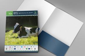 Front & inside conference folder