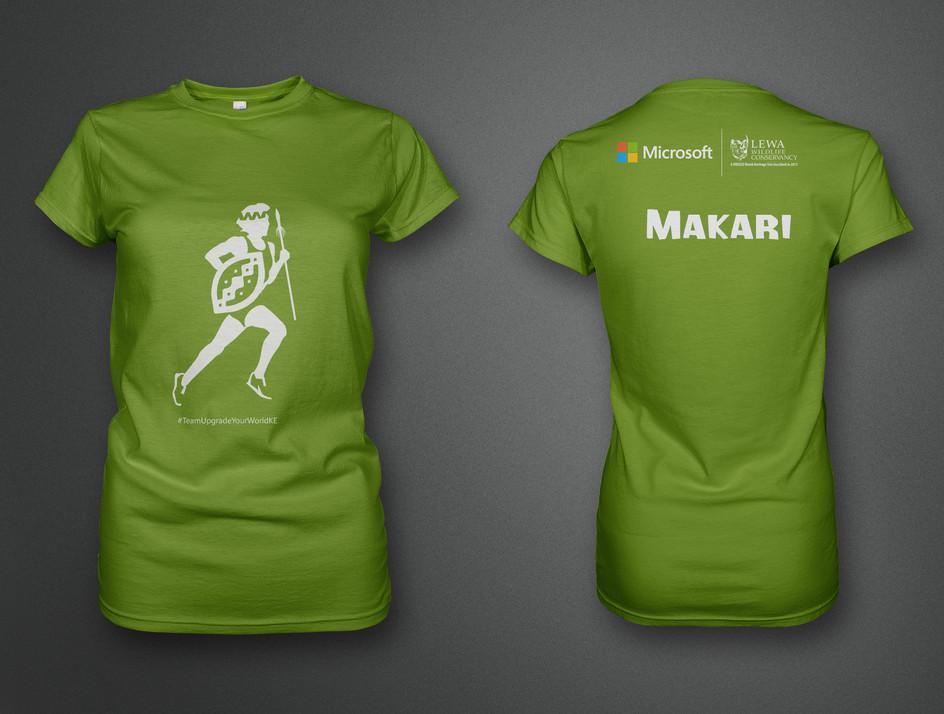Microsoft Lewa marathon tops