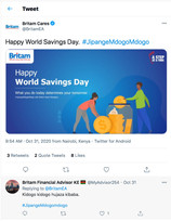 Happy Saving day post