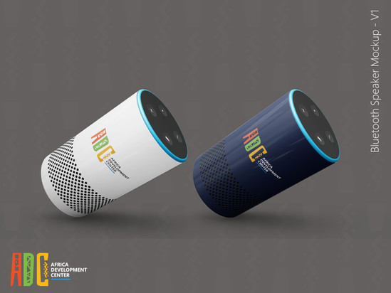 ADC branded Bluetooth speaker