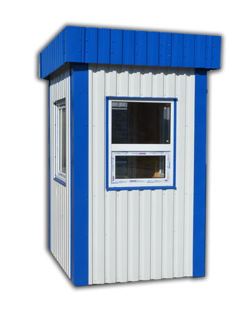 Стандартные и нестандартные помещения для охраны.