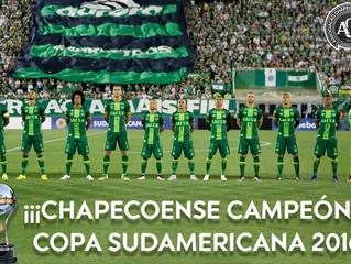 Chape declarada campeã da Sul-Americana