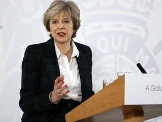 Theresa May: O Reino Unido deve abandonar o mercado único europeu