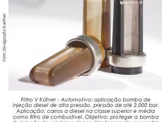 Tela para filtros - Microfiltros, onde estão e como influenciam em nossas vidas