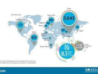 Energia renovável gera empregos no mundo - Proteja seu painel solar com tela.