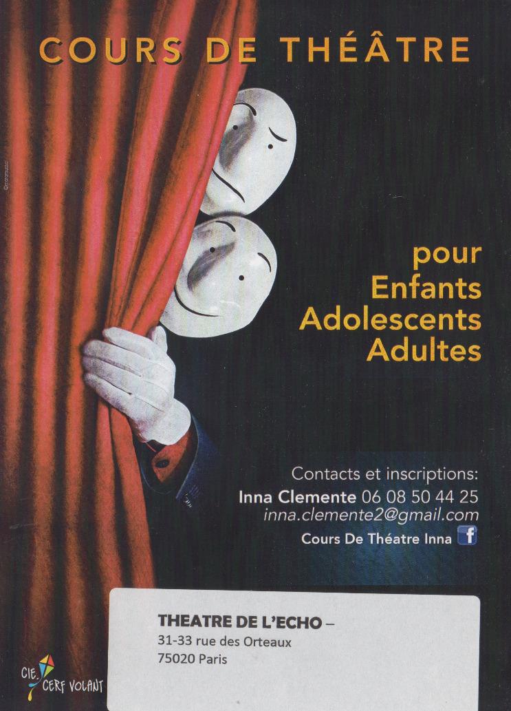 Ateliers Théâtre Inna