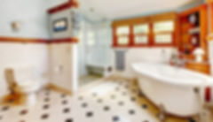 Clean shiny bathroom tile floor.jpg