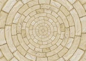 natural stone floor in round pattern.jpg