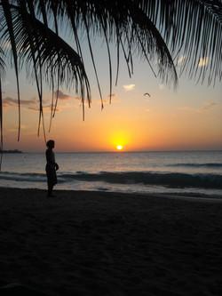 jamaica sunset beach