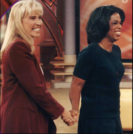 Dr. Cherie and Oprah