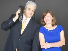 Bob Burg and Kathy Tagenel