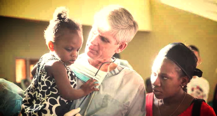 Mission of Sight Doc with toddler girl