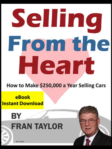 Selling From The Heart eBook for Sales People