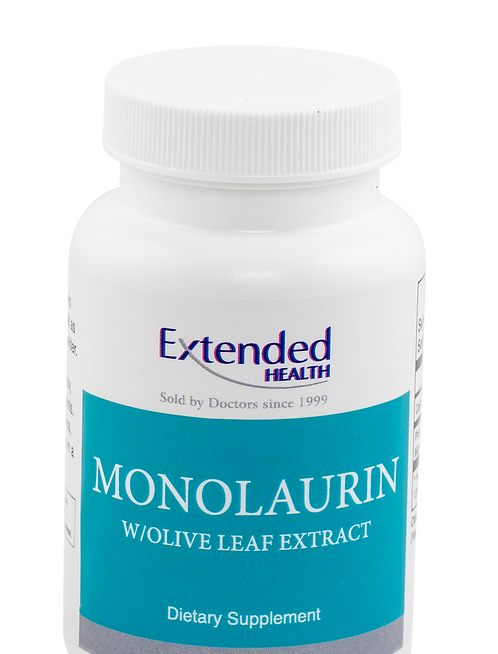 Monolaurin with Olive Leaf Extract