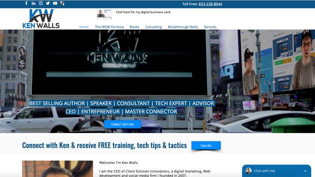 Ken Walls Website