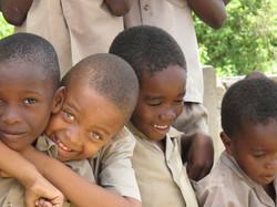 jamaica biys hugging