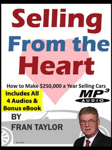 Selling From The Heart 4 Part Audio and Sales Person Set