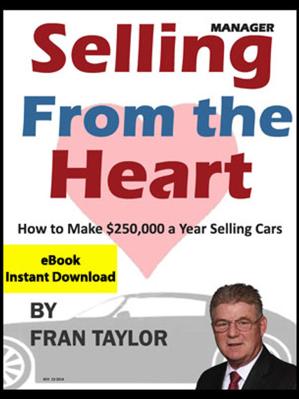 Selling From The Heart eBook for Managers