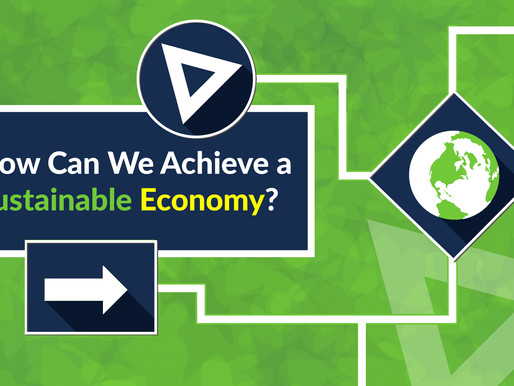 How can we achieve a sustainable economy?