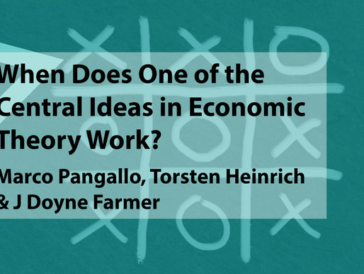 When Does One of the Central Ideas in Economic Theory Work?