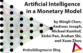 Artificial Intelligence in a Monetary Model
