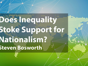 Does Inequality Stoke Support for Nationalism?