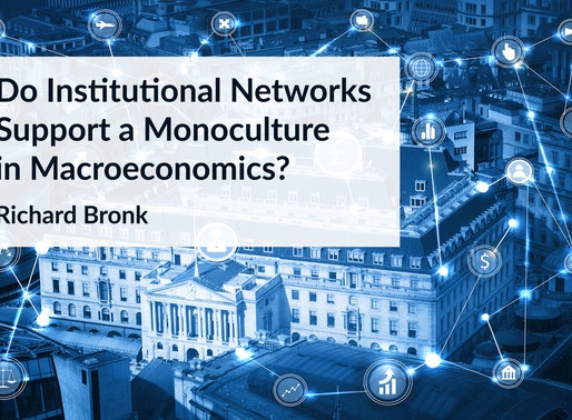 Do Institutional Networks Support a Monoculture in Macroeconomics?