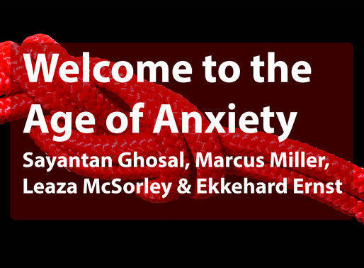Welcome to the Age of Anxiety