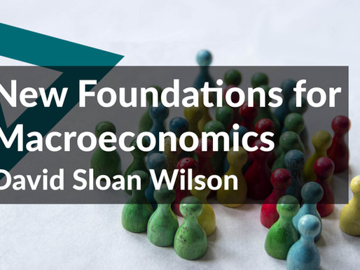 New Foundations for Macroeconomics