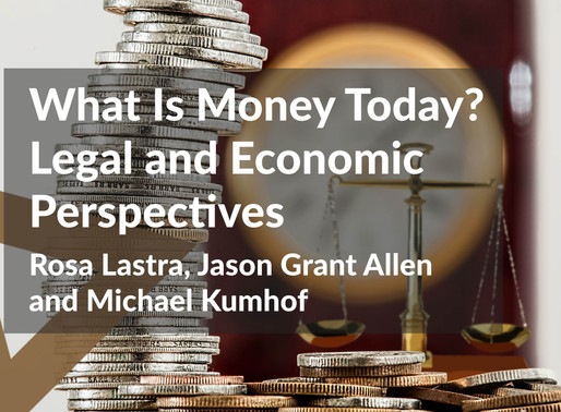 What Is Money Today? Legal and Economic Perspectives