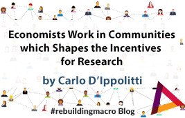 Economists Work in Communities, and this Shapes the Incentives for Research