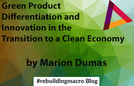 Green Product Differentiation and Innovation in the Transition to a Clean Economy