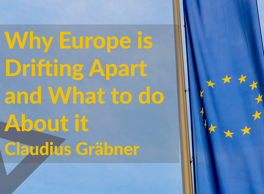 Why Europe is Drifting Apart and What to do About it