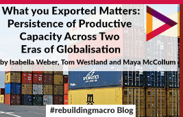 What You Exported Matters: Persistence in Productive Capabilities across Two Eras of Globalization