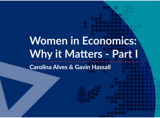 Women in Economics: Why it Matters – Part I