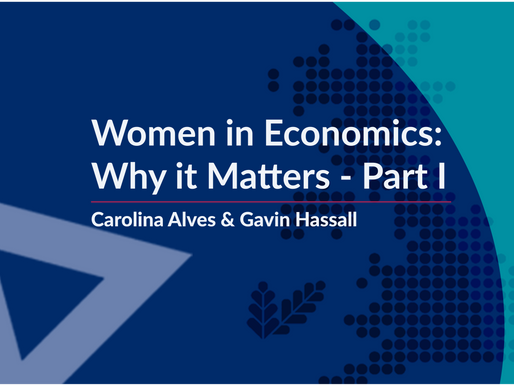 Women in Economics: Why it Matters – Part I