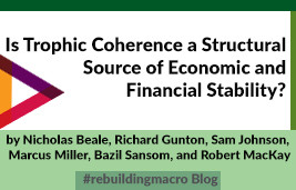 Is Trophic Coherence a Structural Source of Economic and Financial Stability?