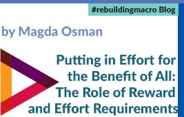 Putting in Effort for the Benefit of All: The Role of Reward and Effort Requirements
